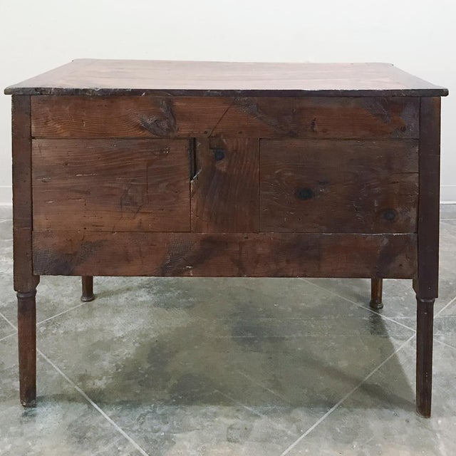 19th Century Country French Fruitwood Directoire Commode For Sale - Image 11 of 12