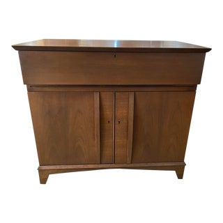 1960s Vintage Mid Century Dry Bar For Sale