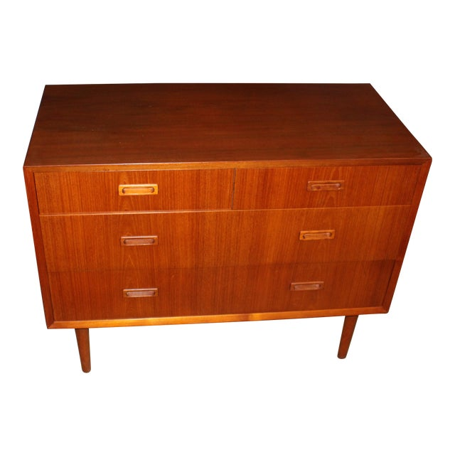 Lyby Mobler Mid-Century Danish Modern 4 Drawer Dresser - Image 1 of 6