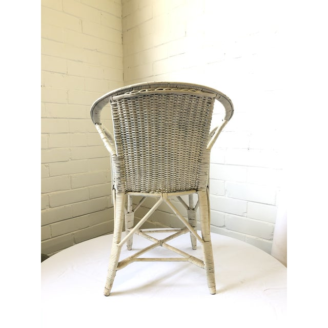 Wicker Early 20th Century Wicker Child's Chair For Sale - Image 7 of 13