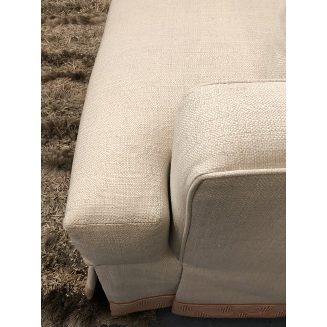 Kenneth Ludwig Chicago Cr Laine 3 Seat Track Arm Sofa For Sale - Image 4 of 10