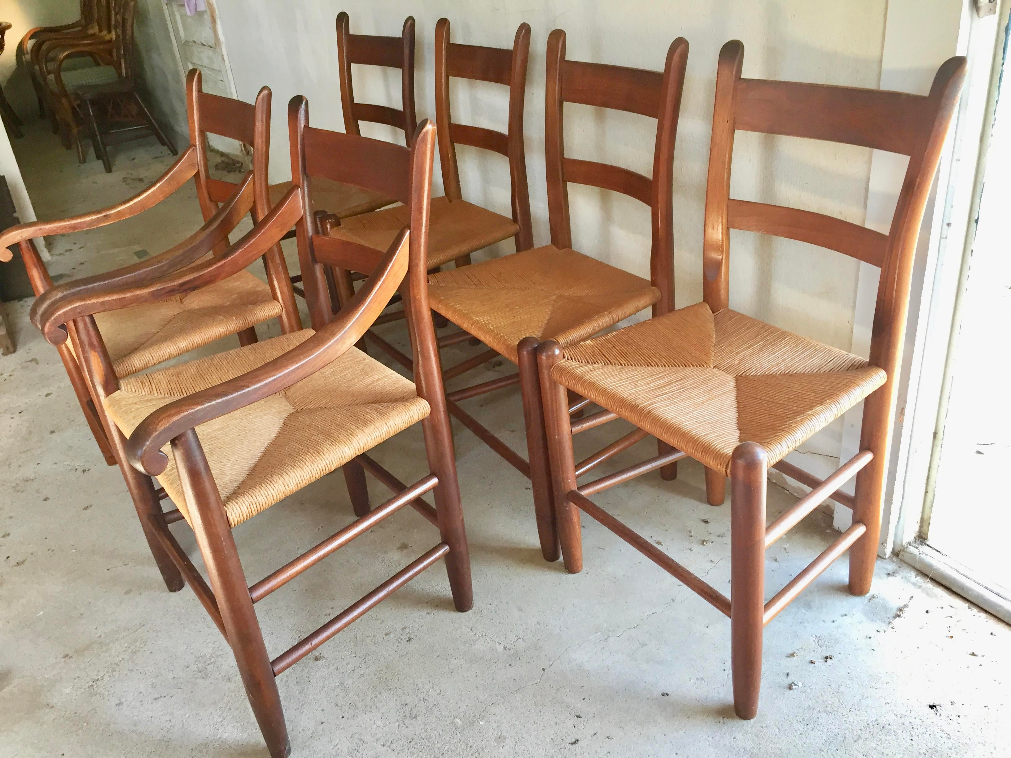 Attrayant Americana Clore Dining Chairs   Set Of 6 For Sale   Image 3 Of 11