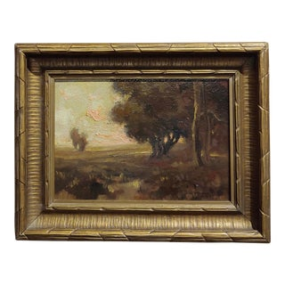 Impressionist California Landscape - Oil Painting C.1900s For Sale