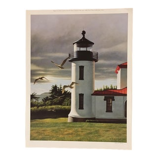 "Howard Koslow ""Admiralty Head"" Washington Print For Sale"