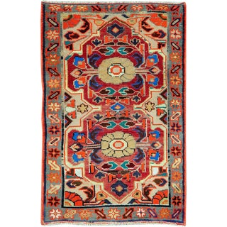 "Vintage Persian Hamadan Rug – Size: 2' 1"" X 3' 1"" For Sale"