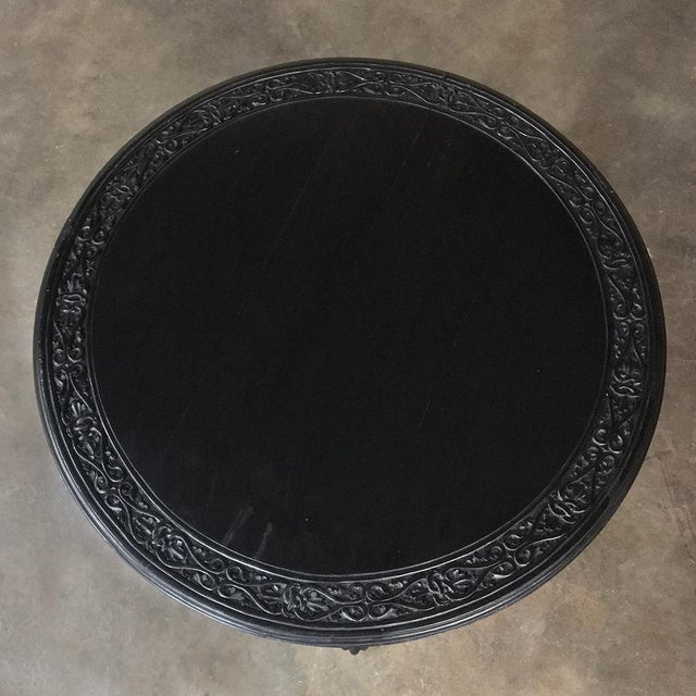 19th Century Second Empire Caryatid Center Table For Sale - Image 11 of 12