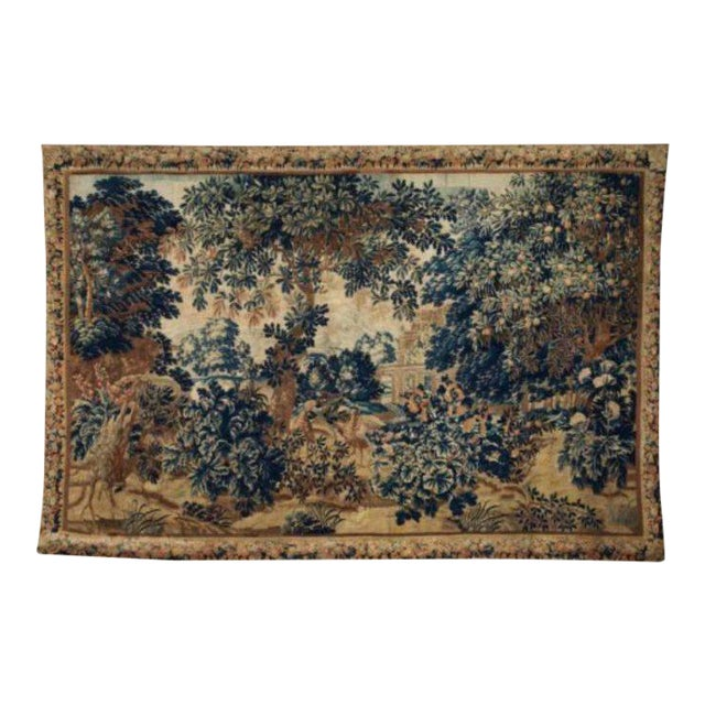 A 17th / Early 18th Century Flemish Pastoral Tapestry Prov. Christies NYC. For Sale