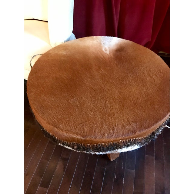 1968 African Tribal Drum Table For Sale In Baltimore - Image 6 of 12