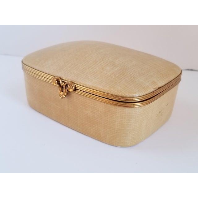 Limoges, France Vintage Chamart Limoges Trinket Box For Sale - Image 4 of 12