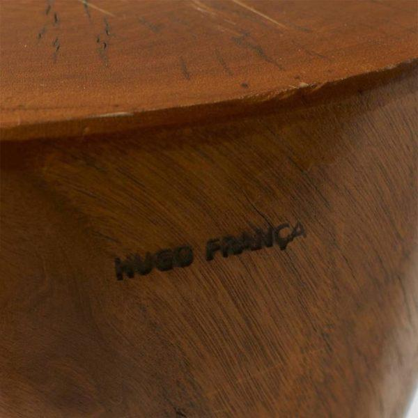 Modern Pair of Side Tables by Hugo Franca For Sale - Image 3 of 9
