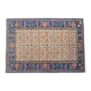 "Antique Armenian Oushak Rug Circa 1900 - 4'2"" X 5'11"""
