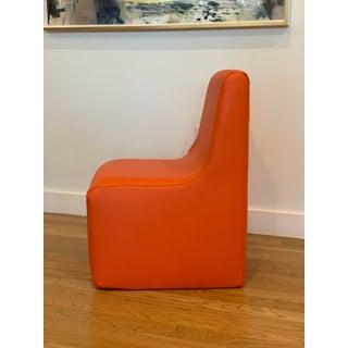 Orange Vinyl Children's Chair Preview