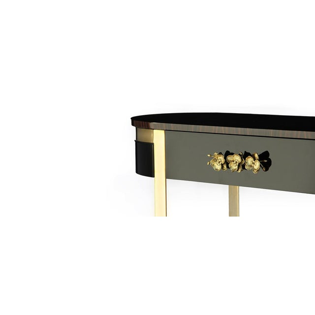 Contemporary Orchidea Console From Covet Paris For Sale - Image 3 of 5