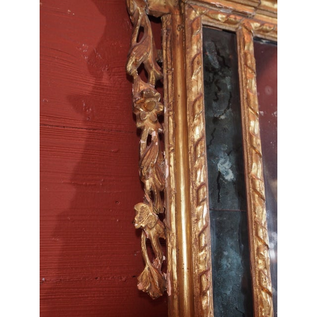 19th Century Italian Gilt Wood Mirror - Image 5 of 8