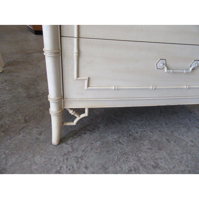 Thomasville Palm Beach Faux Bamboo Dresser - Image 5 of 8