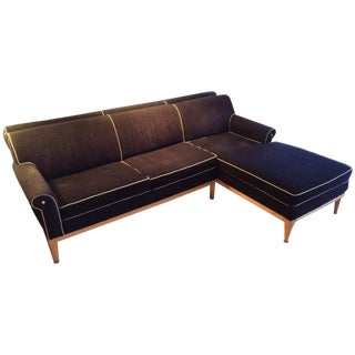 Las Vegas Luxury Black Chaise
