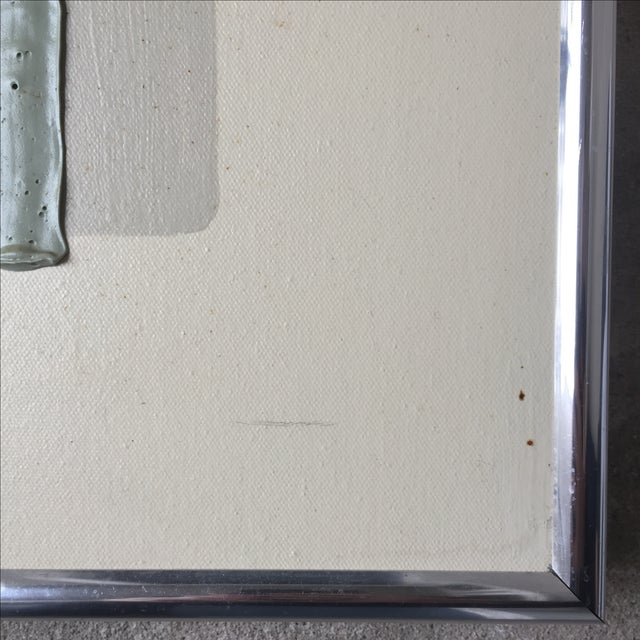 """Vintage Signed """"Taffy"""" 3-D Painting - Image 8 of 10"""