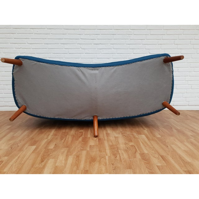 "1960s Vintage Danish Design by Kurt Olsen, ""Banana"" Sofa For Sale - Image 10 of 13"