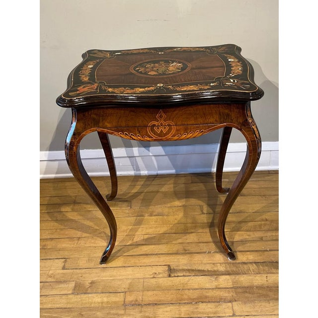 19th Century French Side Table For Sale - Image 13 of 13