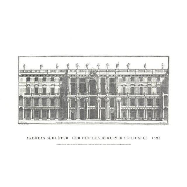 Andreas Schluter, Der Schluterhof, Offset Lithograph, 2009 For Sale - Image 4 of 4