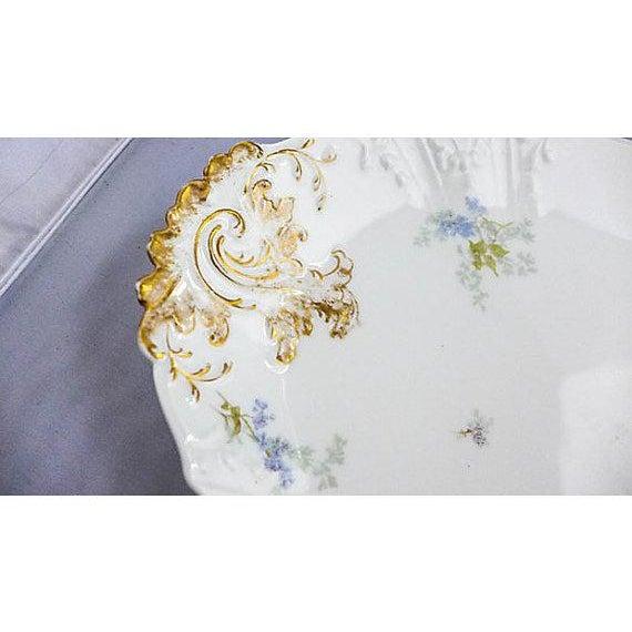 French Haviland Limoges Floral Platter For Sale - Image 5 of 7