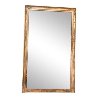 Large French Bois Doré Mirror For Sale