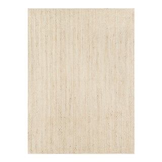 "Erin Gates by Momeni Westshore Waltham Natural Jute Area Rug - 3'6"" X 5'6"" For Sale"