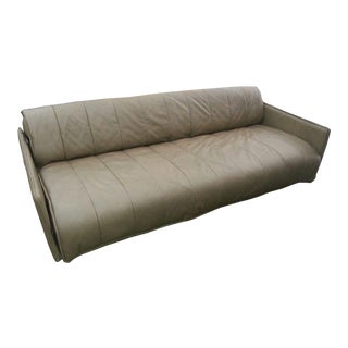 1986 Mid-Century Modern De Sede Leather Sofa