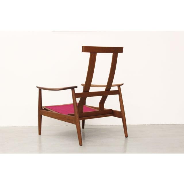 Danish Teak Lounge Chair Arne Vodder France & Son For Sale In Las Vegas - Image 6 of 11