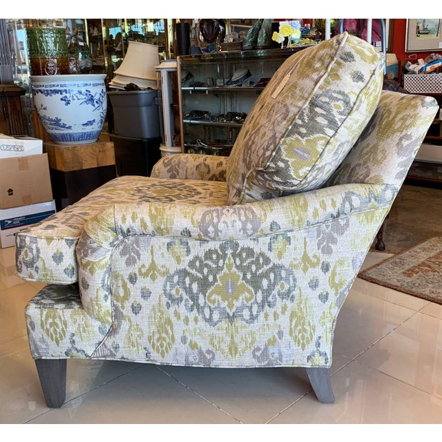 Traditional Lee Industries Lounge Chairs- a Pair For Sale - Image 3 of 13