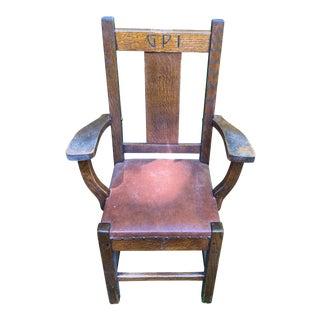 1900s Roycroft Grove Park Inn Chair For Sale