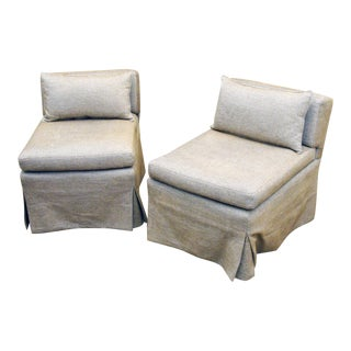 Ferrell Mittmann Classic Slipper Chairs - a Pair For Sale