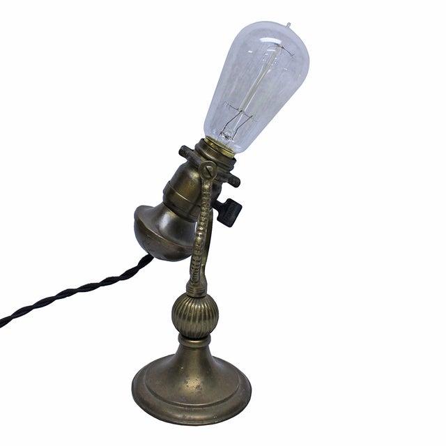 Vintage Brass Desk Lamp - Image 4 of 4