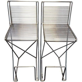 Rare Vintage Volkswagen Bar Stools -- A Pair For Sale