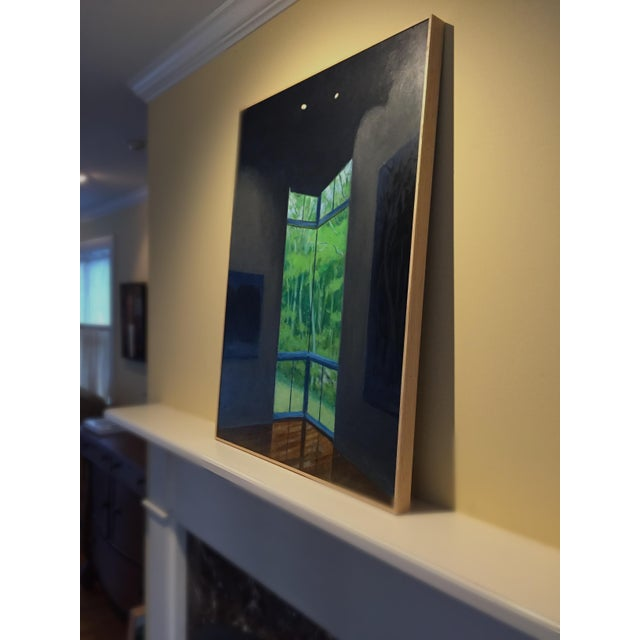 """Paint """"Upstaged"""" Contemporary Painting by Stephen Remick For Sale - Image 7 of 10"""