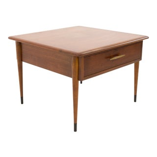 Mid Century Modern Lane Alta Vista Square Side Table For Sale