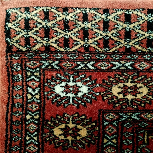 Vintage Hand Woven Persian Rug - 3′ × 5′7″ - Image 6 of 7
