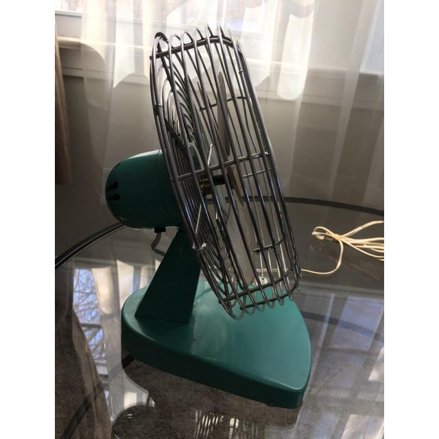 Mid-Century Modern Chrome Desk Fan - Image 7 of 7