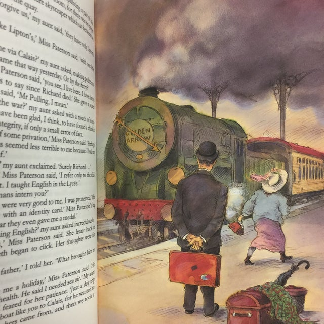 Green Travels With My Aunt Graham Greene Folio Society For Sale - Image 8 of 10