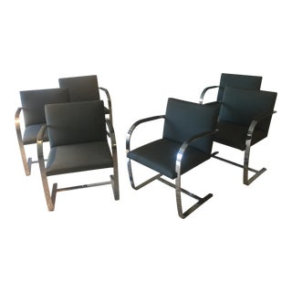 Mies Van Der Rohe Brno Chairs - Set of 6