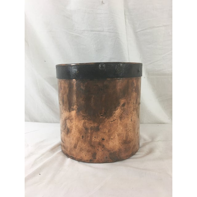 French 19th Century Copper Boiling Pot For Sale - Image 3 of 11