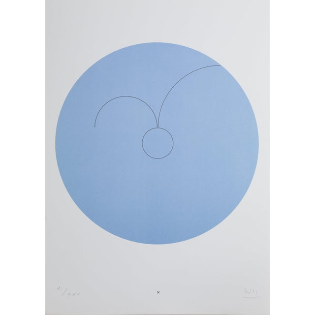 """Max Bill, """"Constellations X"""", Geometric Lithograph For Sale"""