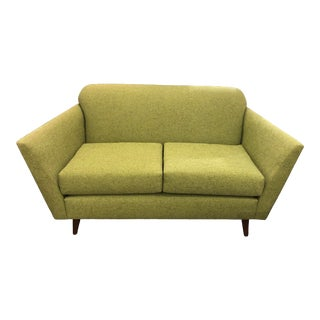 Jorna Green Fabric Loveseat For Sale
