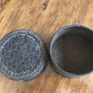 Northern Thai Baskets With Lids - A Pair Preview