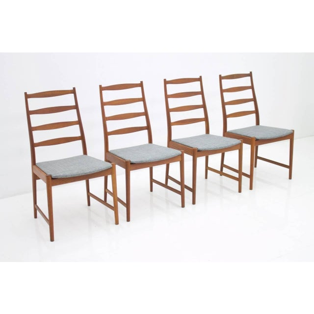 Torbjørn Afdal Teak Dining Chairs by Vamo, Denmark, 1960s For Sale - Image 12 of 12
