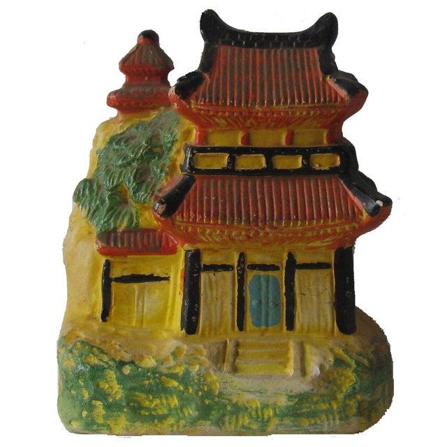Vintage Pagoda Incense Burner - Image 1 of 5