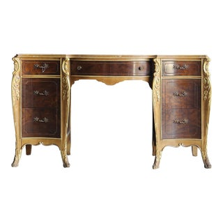 Vintage French Provincial Writing Desk For Sale