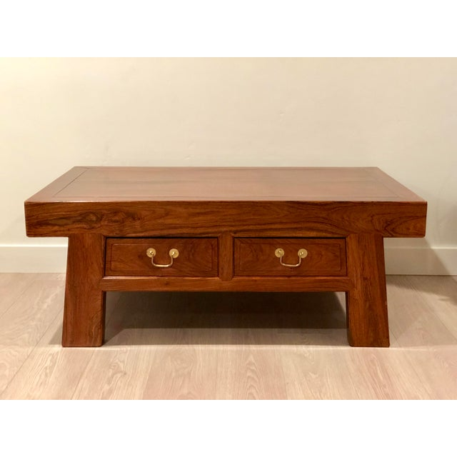 Chinese Huanghuali Rosewood Coffee Table For Sale - Image 11 of 11