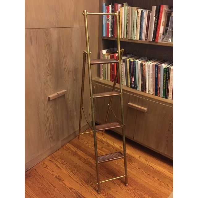 English Folding Library Ladder - Image 5 of 6