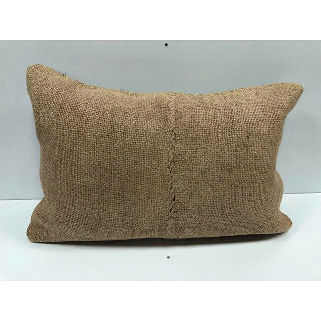 Islamic Turkish Handmade Decorative Kilim Pillow For Sale - Image 3 of 6